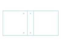 Freebie: Two-Pocket Three-Ring Turned Edge Binder Template