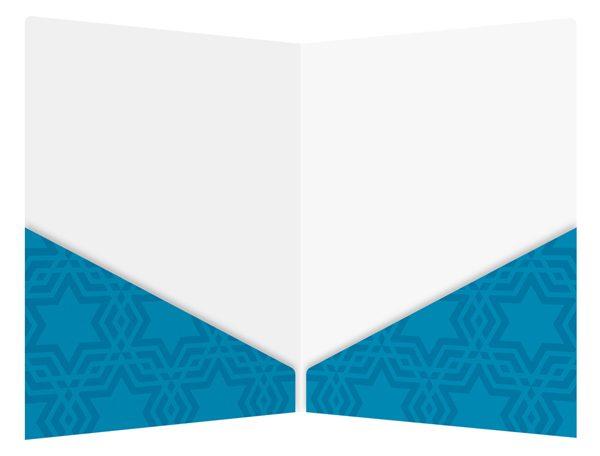 Free Template: Torah Scroll Jewish Presentation Folder Design