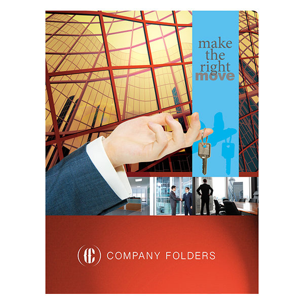 Corporate Offices Real Estate Folder Template (Front View)