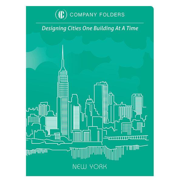 New York City Folder, Business Card & Postcard Template