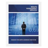 Wealth Management Services Presentation Folder Template