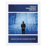 Wealth Management Services Presentation Folder Template