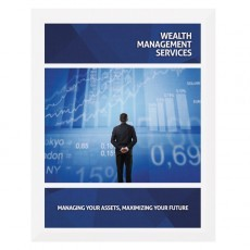 Wealth Management Services Presentation Folder Template (Front View)