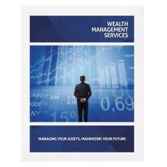 Wealth Management Services Presentation Folder Template (Front View)