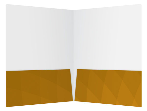 Criminal Attorney Legal Pocket Folder Template (Inside View)