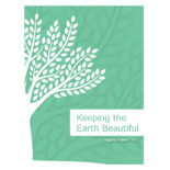 Green Eco-Friendly Presentation Folder Design Template