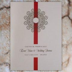 Cactus & Tropicals Event Venue & Wedding Folder (Front View)