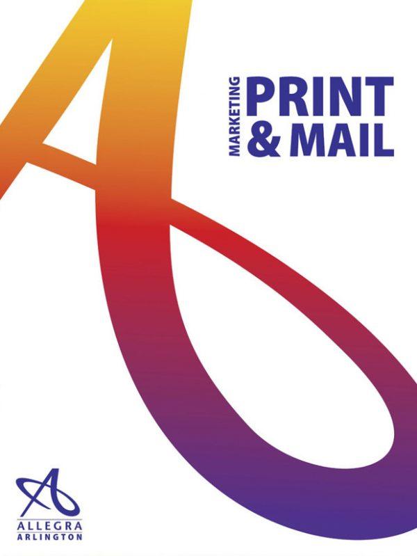Allegra Marketing Presentation Folder (Front View)