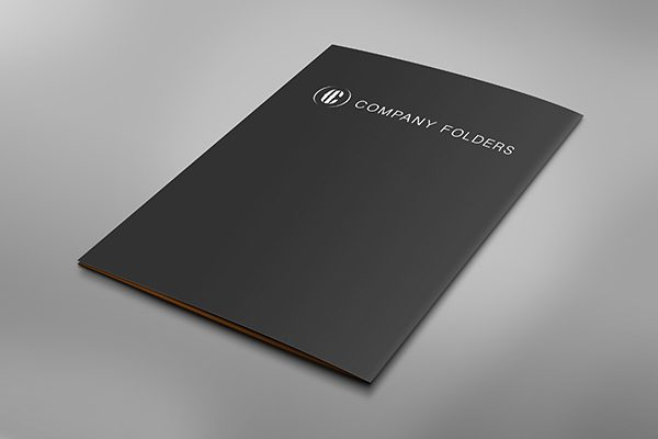 Back Cover Folder Mockup Template