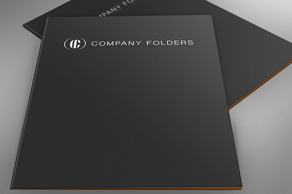 Casual Spread Presentation Folders Mockup Template
