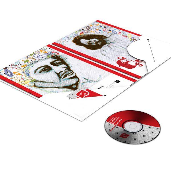 Legends of Rock'n Roll Pocket Folder (Inside View)