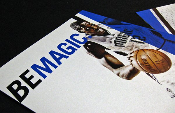Orlando Magic Pocket Folder (Front View)