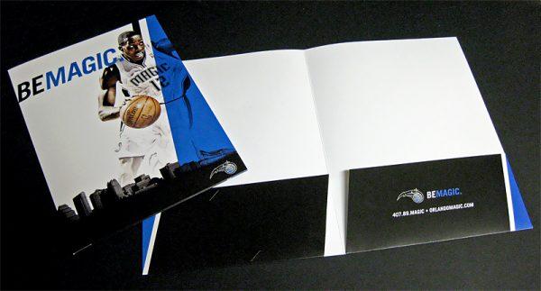 Orlando Magic Pocket Folder (Inside View)