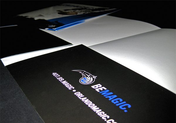 Orlando Magic Pocket Folder (Inside Low Angle View)