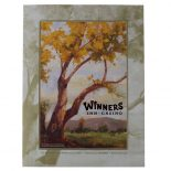 Winners Inn Casino Tri-Panel Folder