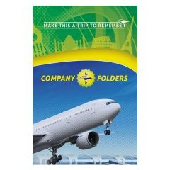 Trip to Remember Travel Pocket Folder Template (Front View)