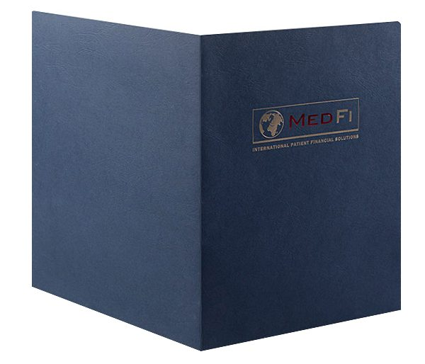 MedFi International Pocket Folder (Front and Back View)