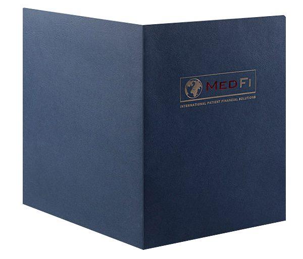 MedFi International Pocket Folder (Front and Back View)