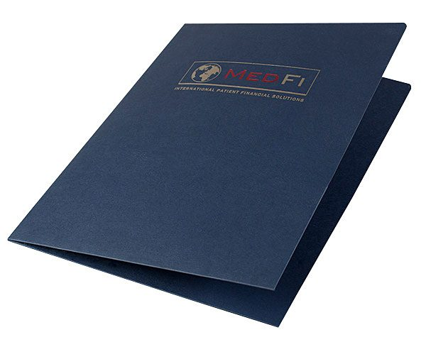 MedFi International Pocket Folder (Front Open View)