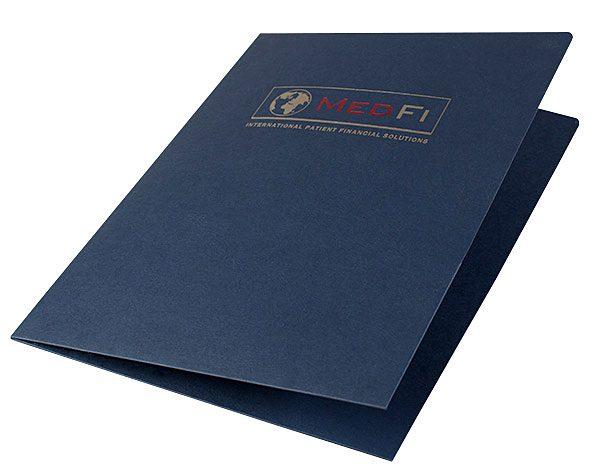 MedFi International Pocket Folder (Front Open View)