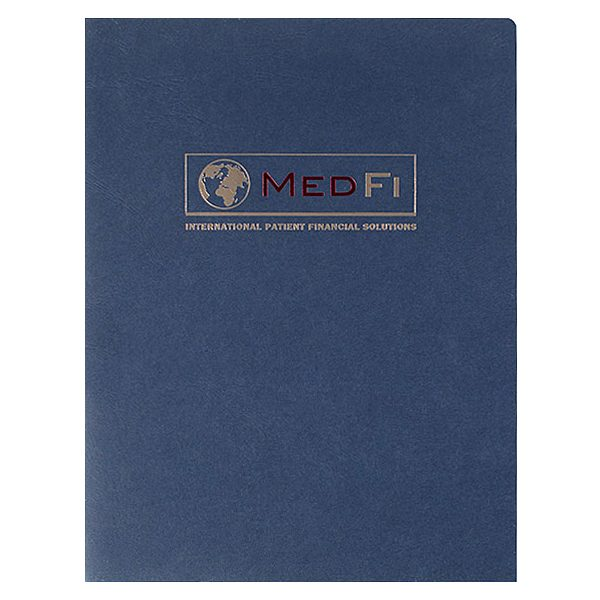 MedFi International Pocket Folder (Front View)