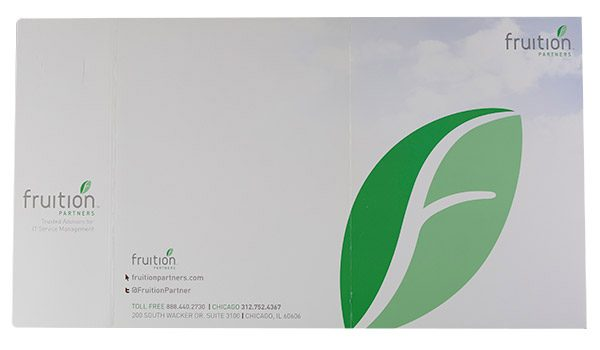 Fruition Partners Technology Pocket Folder (Back Flat View)