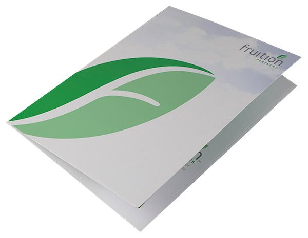 Fruition Partners Technology Pocket Folder (Front Open View)
