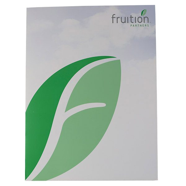 Fruition Partners Technology Pocket Folder (Front View)