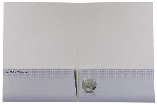 US Software Pocket Folder (Inside Flat View)