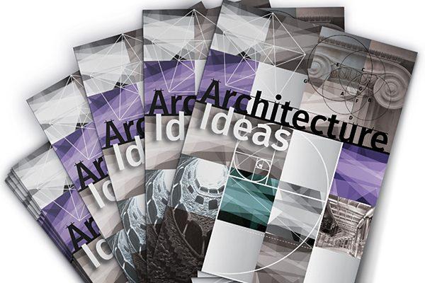 Architecture Ideas Pocket Folder Template (Spread View)