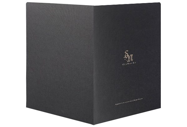 DiaNoche Designs Pocket Folder (Front and Back View)