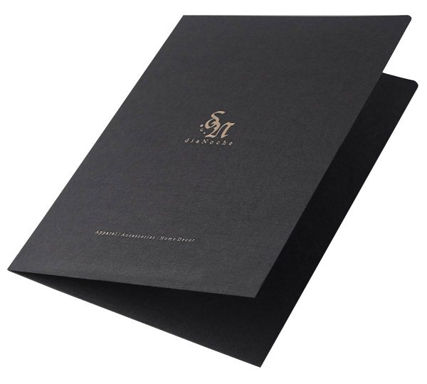 DiaNoche Designs Pocket Folder (Front Open View)