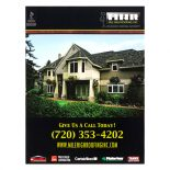 Mile High Roofing Inc. Pocket Folder