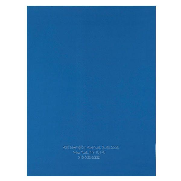 Pride Global Pocket Folder (Back View)
