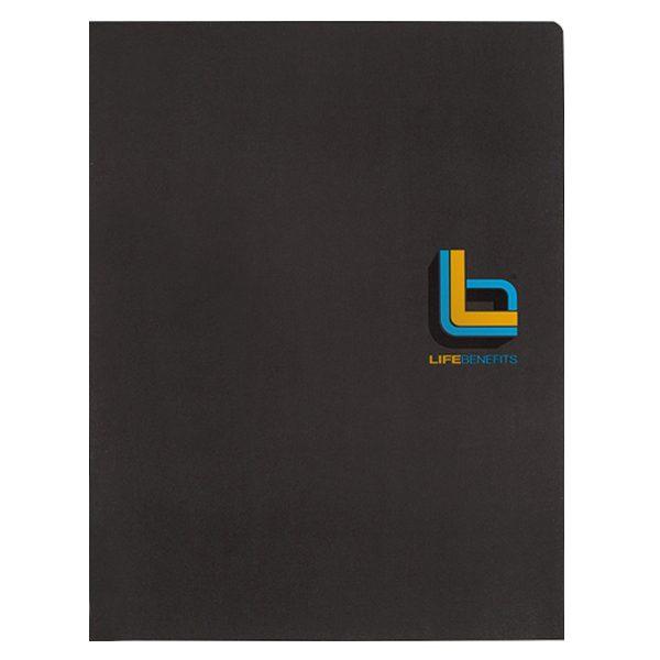 Life Benefits Insurance Pocket Folder (Front View)