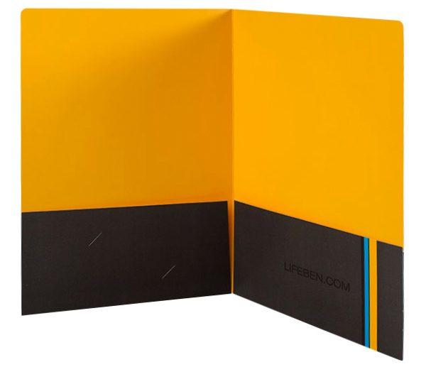 Life Benefits Insurance Pocket Folder (Inside View)