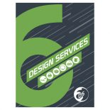Six Design Services Folder and Business Card Template