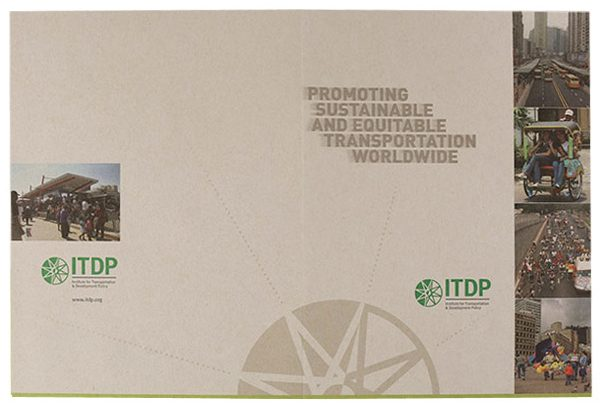ITDP Pocket Folder (Front and Back Flat View)