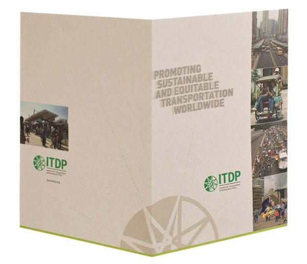 ITDP Pocket Folder (Front and Back View)