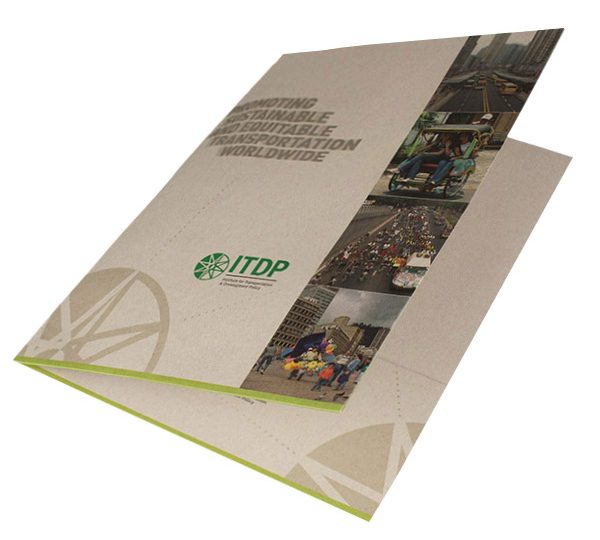 ITDP Pocket Folder (Front Open View)