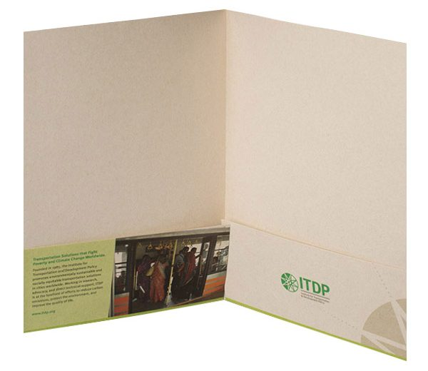 ITDP Pocket Folder (Inside View)