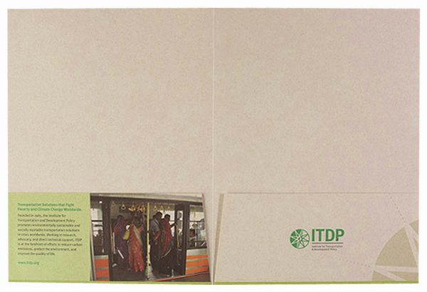 ITDP Pocket Folder (Inside Flat View)
