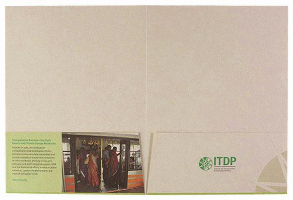 ITDP Pocket Folder (Inside Flat View)