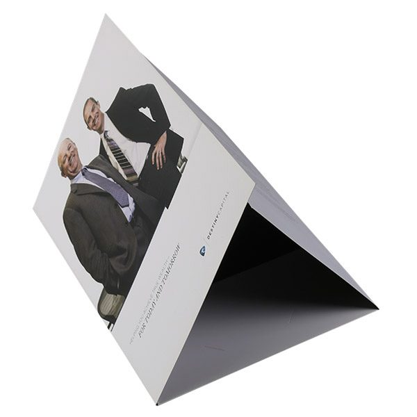 Destiny Capital Pocket Folder (Tented Left View)