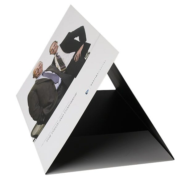 Destiny Capital Pocket Folder (Tented Center View)