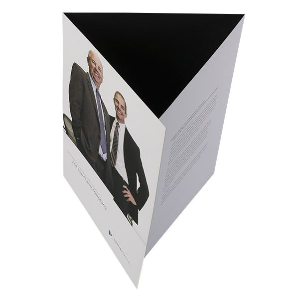 Destiny Capital Pocket Folder (Tented Top View)
