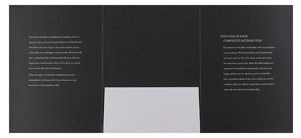 Destiny Capital Pocket Folder (Inside Flat View)