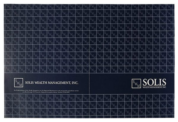 Solis Wealth Management, Inc. Pocket Folder (Back Open Flat View)
