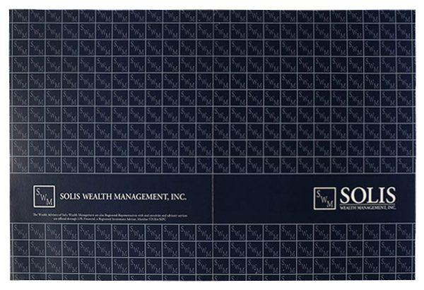 Solis Wealth Management, Inc. Pocket Folder (Back Open Flat View)