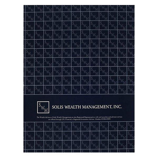 Solis Wealth Management, Inc. Pocket Folder (Back View)